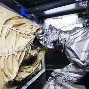 非标喷砂机器人屏风防护罩 TFBPFS05