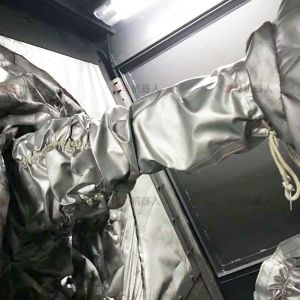 ABB IRB4600喷砂机器人屏风防护罩